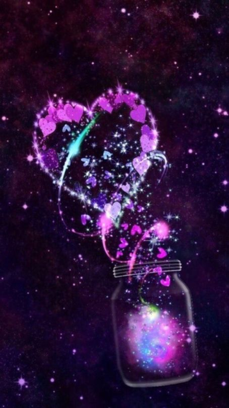 Heart Galaxy Iphone Android Wallpaper I Created For The App Cocoppa Galaxy Wallpaper Galaxy Wallpaper Iphone Iphone Background Wallpaper