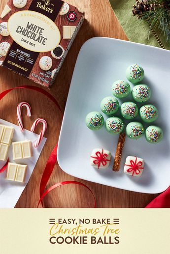 Get Festive With Christmas Tree Cookie Balls These Easy No Bake