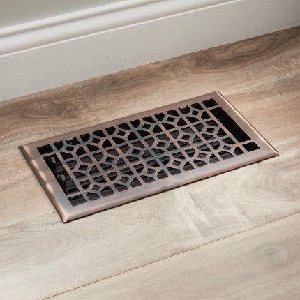 Appert Steel Floor Register Floor Registers Flooring Decorative Vent Cover