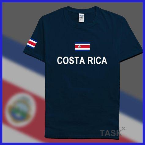 Costa Rica mens t shirts fashion 2017 jerseys  nation 100% cotton t-shirt  clothing tees country sporting CRI Costa Rican Tico d33df9381