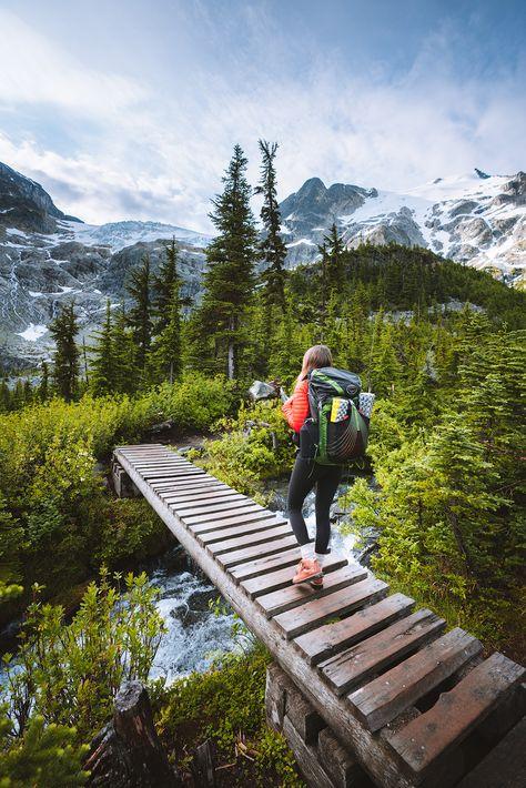 Couples Adventure Getaway to British Columbia, Canada - Renee Roaming Joffre lake Hiking Photography, Adventure Photography, Adventure Couple, Adventure Travel, Adventure Quotes, Nature Adventure, Adventure Tours, British Columbia, Columbia Travel