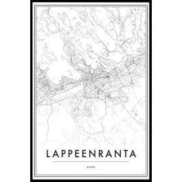 Lappeenranta Kartta Juliste N02 Julisteet Ja Printit