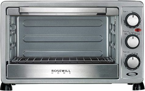 Rosewill 6 Slice Convection Toaster Oven Countertop Stainless