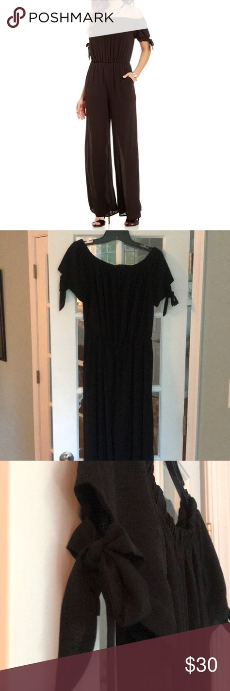 c5af17a3b119 Spotted while shopping on Poshmark  NWT Gianni Bini off the shoulder  jumpsuit size M!
