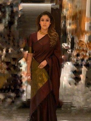 Nayanthara Kerala saree Nayanthara in