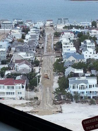 Aerial Views Of Shore Devastation Aerial View Long Beach Island Devastation