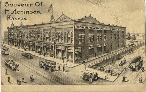 Downtown Hutchinson Ks
