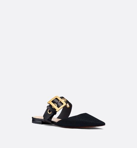 6f956fbd22 D-Dior technical canvas mule in 2019 | shoes | Dior, Mules shoes ...