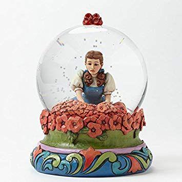 Jim Shore Wizard Of Oz Spell Broken Dorothy In Poppy Field Snow Globe 4045416 Disney Traditions Snow Globes Wizard Of Oz