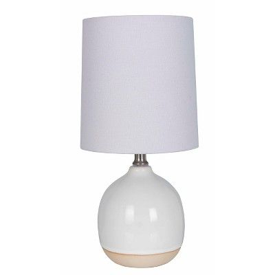 Round Ceramic Table Lamp White Lamp Only Threshold Budget Friendly Home Ideas Style Interiors Hom White Table Lamp Lamp Ceramic Table Lamps