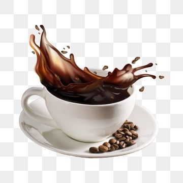 coffee grains flying into cup of espresso with splash png background cup splash fresh png transparent clipart image and psd file for free download in 2020 coffee grain coffee fonts brown coffee grain