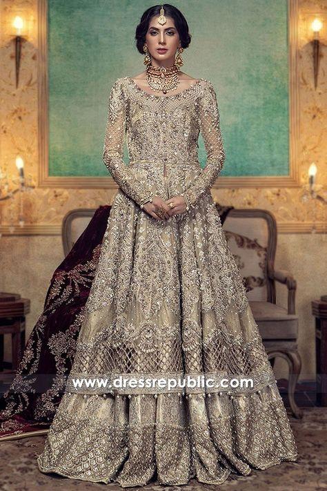- Maria B Bridal Wear Pakistan - Luxurious Bridal Lehenga - For order & Inquiry: New York U.A: 0585 638 3223 London U.K: Perth Australia: Bridal Rapids Illinois US… and