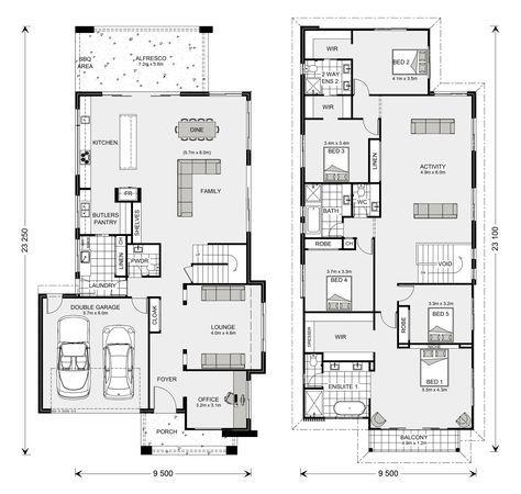 Kingscliff 324 Home Designs In Launceston G J Gardner Homes Floor Plans Dream House Plans House Floor Plans