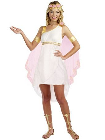 Girlu0027s Teen Goddess of Glam Costume | Wholesale Greek/Roman Halloween Costumes for Teen  sc 1 st  Pinterest : aphrodite halloween costume  - Germanpascual.Com