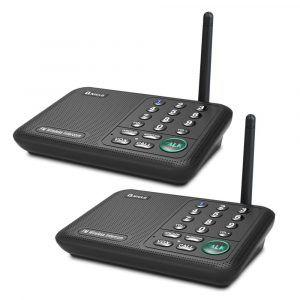 Qniglo Wireless Intercom System 10 Channel 1 2 Mile Long Range Intercom Best Home Theater Speakers System