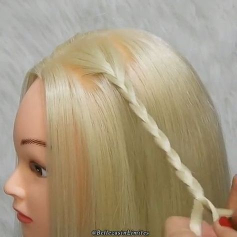 Beautiful Braid Tutorial  #Beautiful #Braid #Hairstyle #hairstyles #tutorial