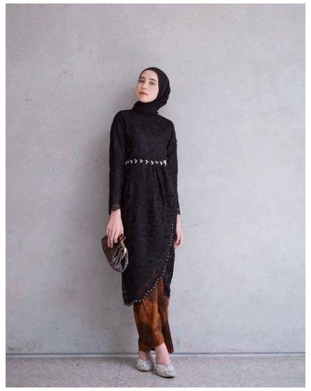 Fashion Hijab Dress Black 56 Ideas Fashion Hijab Dress Black 56 Ideas Dress Fashion Casual Dress Outfits Dress Brokat Modern Kebaya Modern Dress