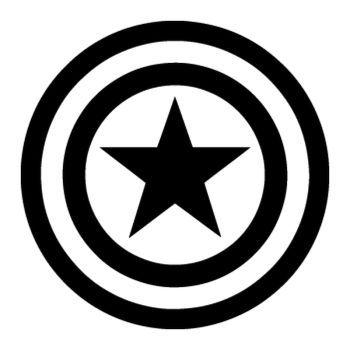 Captain America Logo Sticker Captain America Logo Captain America Shield Tattoo Captain America