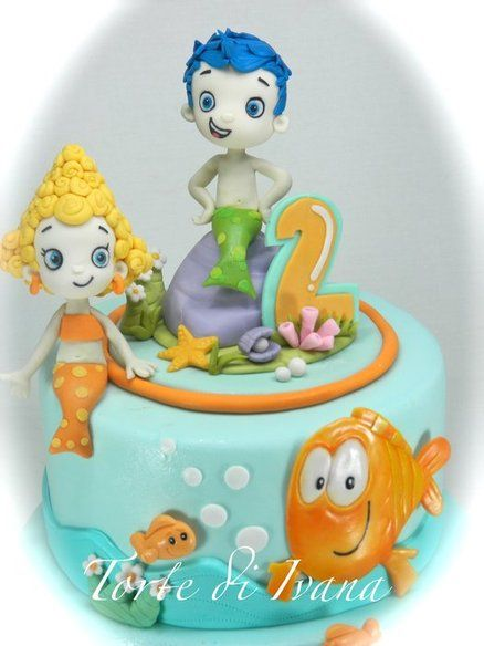 BUBBLE GUPPIES  Cake by tortediivana