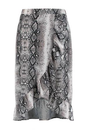 0b945e0aae5 Overslagrok met slangenprint in 2019 | Dames fashion - Rok ...
