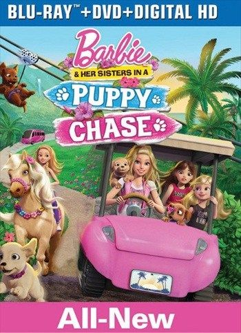 Barbie And Her Sisters In A Puppy Chase 2016 Dual Audio Hindi 720p Bluray 650mb Free Movie Barbie And Her Sisters Barbie Movies Barbie