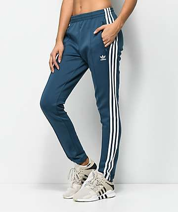 Adidas Originals Trackpants Jogginghose blau