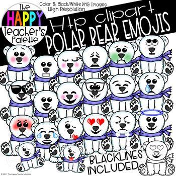Htp Clip Art Polar Bear Emojis The Happy Teacher S Palette Emoji Images Bear Emoji Emoji