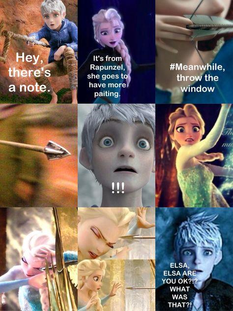 Part 9, OMG! Elsa and Jack   Disney and dreamworks, Disney ...