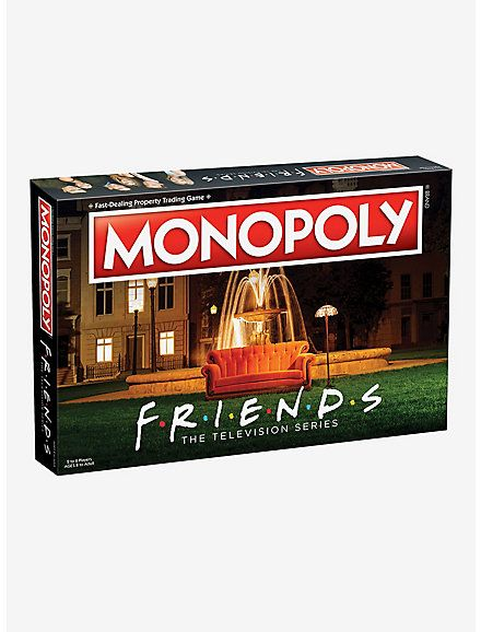 Pop Culture Shop, Friends Merchandise, Friends Shirts, Orange Couch, Monica And Chandler, Ross And Rachel, Buy All The Things, Monopoly Board, American Series