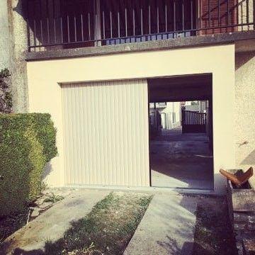 Porte De Garage A Enroulement Laterale Avec Motorisation Somfy