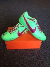 Nike Elastico Finale II New Authentic Indoor Soccer Shoe Futsal  Mint/Pink/Lime