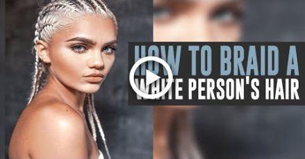 Comment tresser une personne blanche Cheveux # coiffures # tresses d'été fille blanche Comment ... #blanche #cheveux #coiffures #comment #d39été #fille #personne
