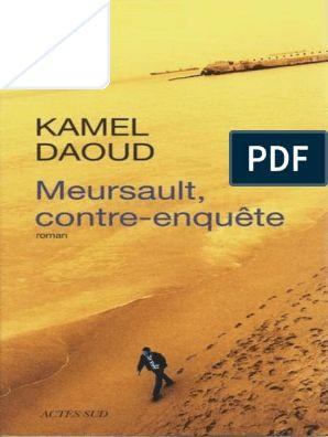 KAMEL PDF MEURSAULT TÉLÉCHARGER DAOUD CONTRE ENQUETE