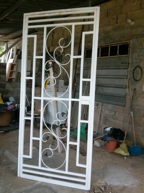 Beautiful Inspiration Puertas De Hierro Decorativas Panama Precios Anuncio Gangas Segunda Mano Wrought Iron Doors Window Grill Design Door Design Wood