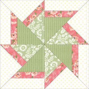 Paper Pieced Quilt Patterns, Patchwork Patterns, Quilt Patterns Free, Patchwork Quilting, Pattern Blocks, Longarm Quilting, Scrappy Quilts, Beginner Quilt Patterns, Motifs Applique Laine
