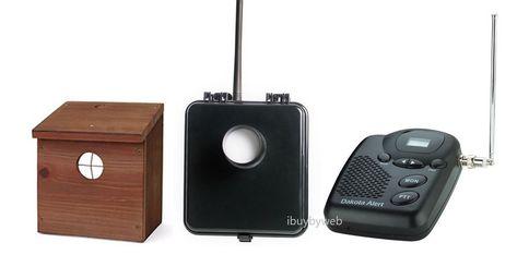 Dakota Alert Murs Bs Kit 1 Wireless Motion Sensor Driveway Security Alarm Bh Dakotaalert