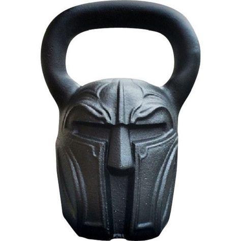Spartan Helmet Kettlebell