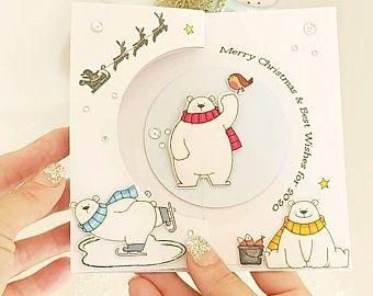 Robin carte de Noel cadeau robin perdu un être cher carte de