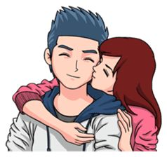 Soulmate - Romantic Couple sticker #10207477