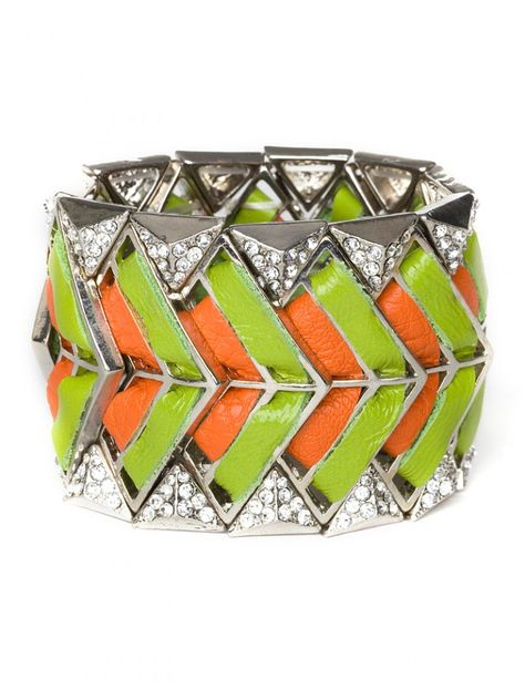Chevron Craft Cuff- I love this