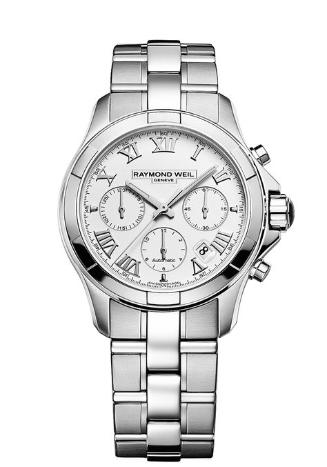 Parsifal Mens Watch - Parsifal automatic chronograph Steel on steel | RAYMOND WEIL Genève Luxury Watches