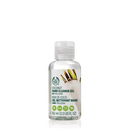 Coconut Hand Cleanse Gel The Body Shop Body Shop Coconut Oil