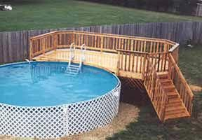 27 Round Pool Deck Plans 12 X 22 Leisure Pool Deck Plan 1822plt Buildyourowndeck Pool Deck Plans Building A Deck Simple Pool