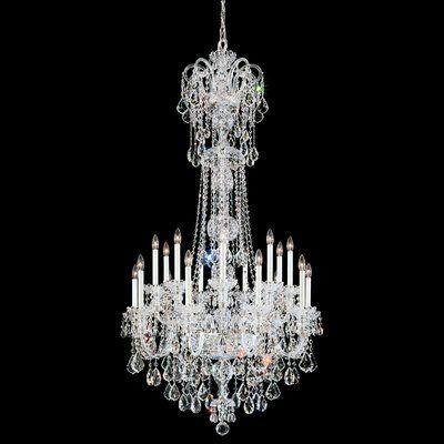 Schonbek Olde World 23 Light Chandelier Crystal Type Swarovski Elements Clear Swarovski Crystal Chandelier Crystal Chandelier Candle Style Chandelier