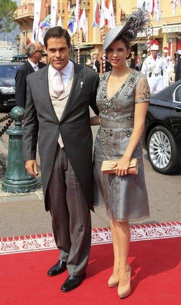 Prince Louis Alphonse of Bourbon, Duke of Anjou and Princess Marie Marguerite of Bourbon, Duchess of Anjou