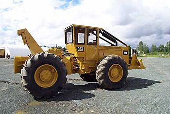 Caterpillar 528 Wheel Skidder - Caterpillar Wheel Skidders