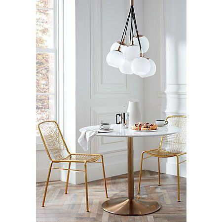 Alpha Brass Chair Reviews With Images Brass Dining Table