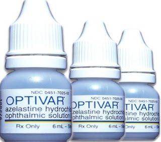 دليل القطرات Optivar قطرة العين أوبتيفار Eye Drops Eye Care Eye Infections