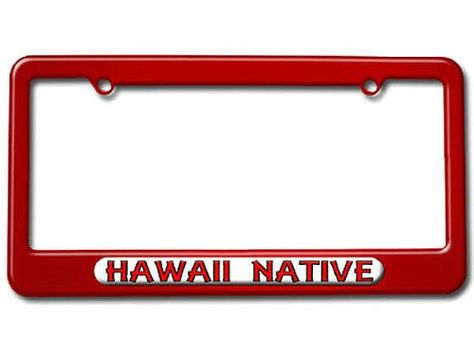 Hawaii License Plate Frames Pictures | Hawaii License Plate Frames ...
