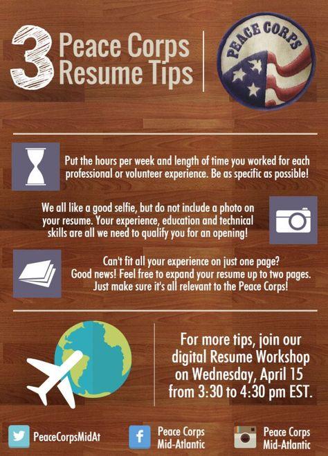 Peace-Corps-resume-workshop- Letu0027s be adventurers, shall we - resume workshop